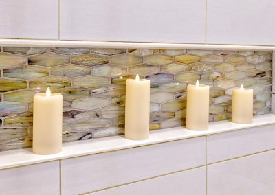 Tile as Art in an Updated Master Bath